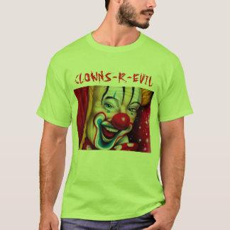 Camiseta Os palhaços são maus