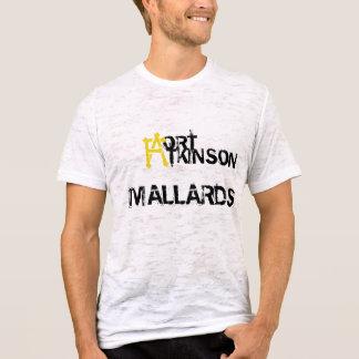 Camiseta Os patos selvagens queimaram o tshirt