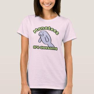 Camiseta Os peixes-boi são impressionantes