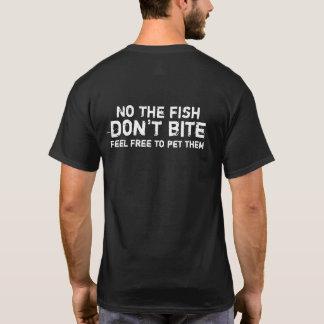 Camiseta Os peixes não mordem