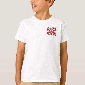 Camiseta Os pés do Tshirt do logotipo de Gagaballer