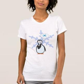 Camiseta Os pinguins sonham da física nuclear?
