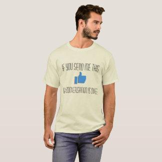 Camiseta Os polegares acima do animal de estimação Peeve