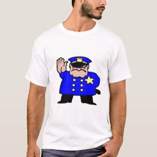 Camiseta os polícia-desenhos animados, lutam o poder
