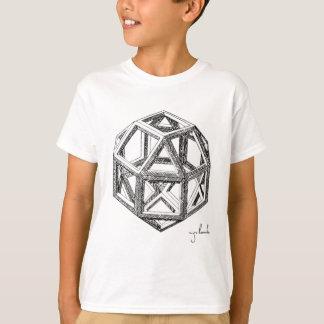 Camiseta Os poliedros de Leonardo