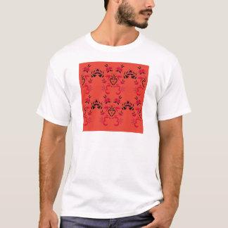 Camiseta Os povos maravilhosos projetam a laranja