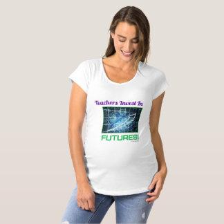 Camiseta Os professores investem no t-shirt de maternidade