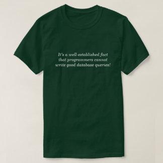Camiseta … os programadores não podem escrever boas