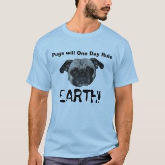 Camiseta Os Pugs ordenarão!