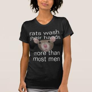 Camiseta os ratos lavam suas mãos