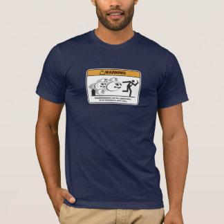Camiseta Os Saccharomyces podem ser agressivos!