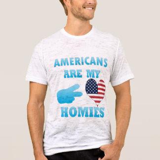 Camiseta Os Samoans são meu Homies
