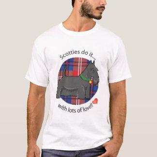 Camiseta Os Scotties fazem-no
