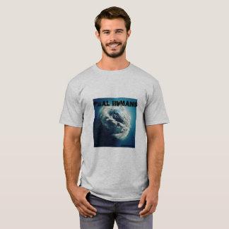 Camiseta Os seres humanos reais Pray para o mundo