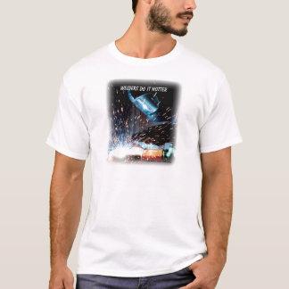 Camiseta Os soldadores fazem ele mais quente