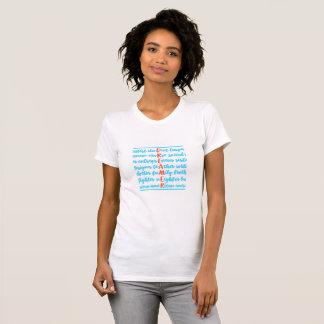 Camiseta Os sonhadores são t-shirt dos americanos