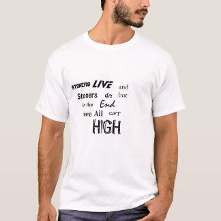Camiseta Os Stoners obtêm altos
