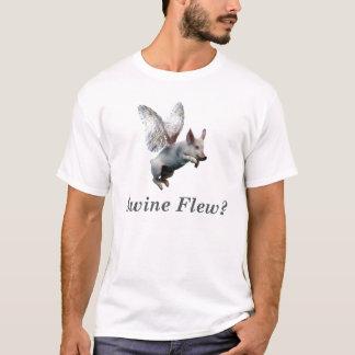 Camiseta Os suínos voaram