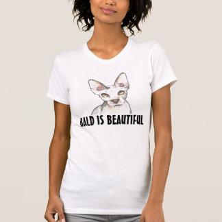 Camiseta Os t-shirt CALVOS do CAT de SPHYNX, calvos são