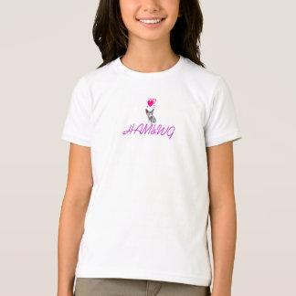 Camiseta Os t-shirt da menina de HAMbWG - com minúsculo o
