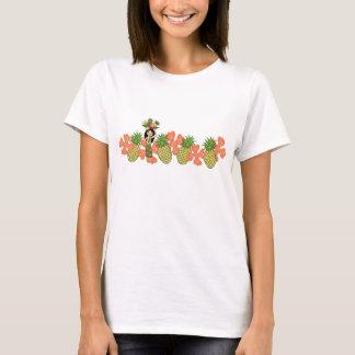 Camiseta Os t-shirt do galão da banda de Luau do abacaxi