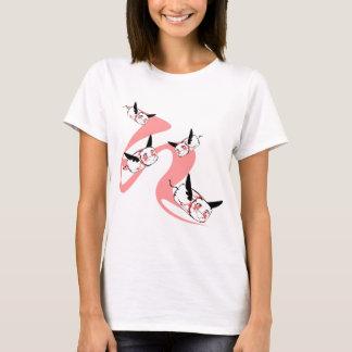 Camiseta Os tampons felizes do vôo! KR 215