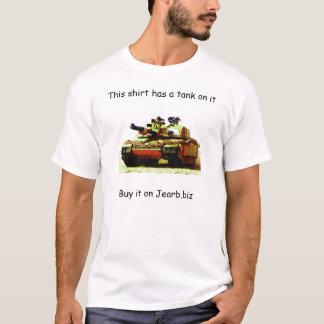 Camiseta Os tanques são radicais