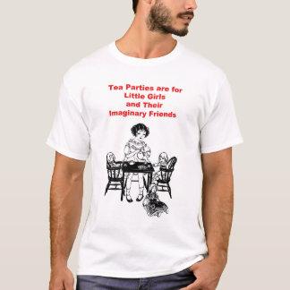 Camiseta Os tea party são para as meninas
