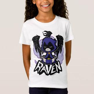 Camiseta Os titã adolescentes vão! ataque do corvo de  