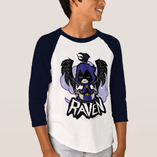 Camiseta Os titã adolescentes vão! ataque do corvo de |