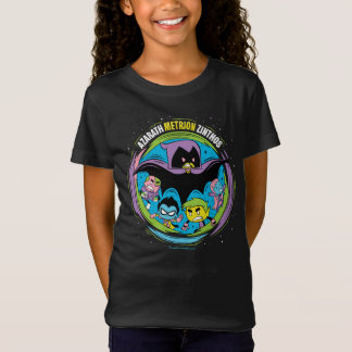 "Camiseta Os titã adolescentes vão! corvo ""Azarath Metrion"