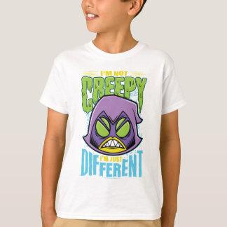 """Camiseta Os titã adolescentes vão! corvo de   """"nao"""