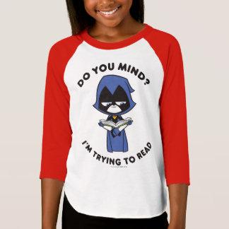 """Camiseta Os titã adolescentes vão! corvo de   """"que eu estou"""