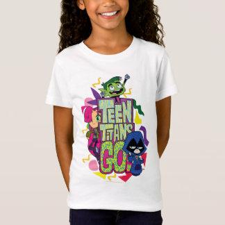 """Camiseta Os titã adolescentes vão! Das """"logotipo animal do"""