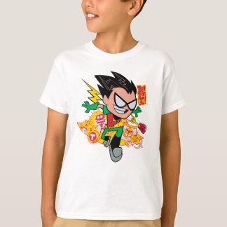 Camiseta Os titã adolescentes vão! gráfico do arsenal do