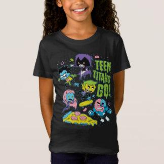 Camiseta Os titã adolescentes vão! gráfico Gnarly da pizza