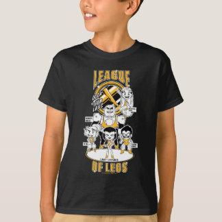 Camiseta Os titã adolescentes vão! liga de | dos pés