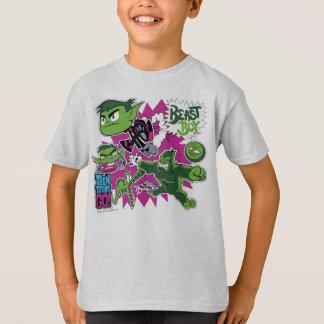 Camiseta Os titã adolescentes vão! menino Shapeshifts do