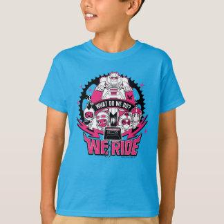 """Camiseta Os titã adolescentes vão!   """"nós montamos"""" o"""