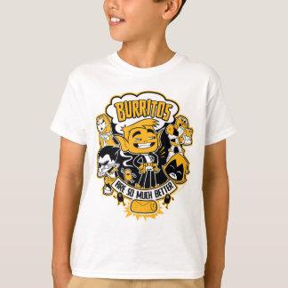 """Camiseta Os titã adolescentes vão! O menino """"Burritos do"""