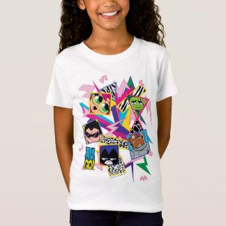 Camiseta Os titã adolescentes vão! os anos 90 retros de  