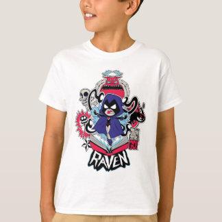 Camiseta Os titã adolescentes vão! poderes demoníacos do