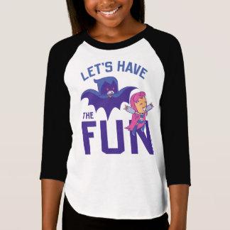 """Camiseta Os titã adolescentes vão!   Starfire & corvo """"têm"""