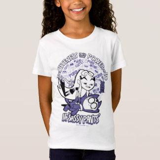 Camiseta Os titã adolescentes vão! | Starfire & Sr. Sassy