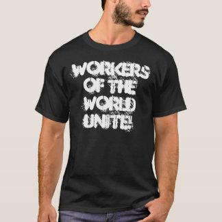 Camiseta Os trabalhadores do mundo unem-se!