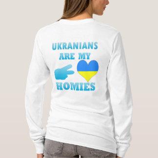 Camiseta Os ucranianos são meu Homies