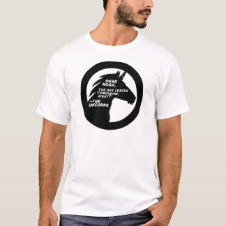 Camiseta Os unicórnios faltaram a arca