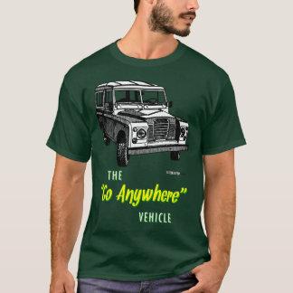 Camiseta Os vagabundos da terra vão em qualquer lugar