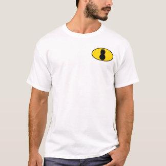 Camiseta Os vingadores do abacaxi rolam o T profundo