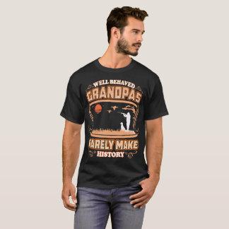 Camiseta Os vovôs bem comportados fazem raramente a caça da